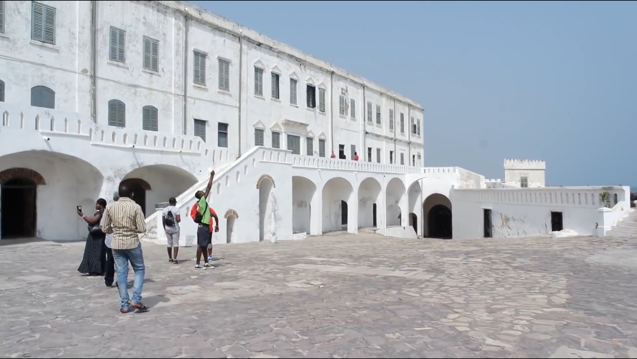 The Cape Coast Castle and its role in the Atlantic slave trade